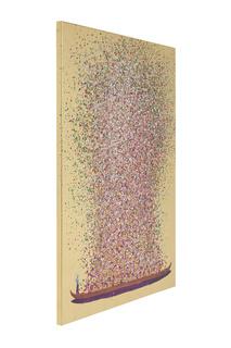 Картина Flower Boat 100х80 см Kare