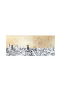 Картина London 50х120 см Kare