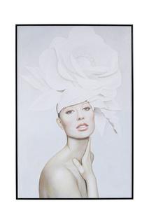 Картина в рамке Lady Flowers Kare
