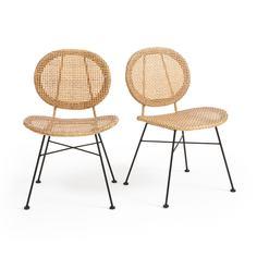 Комплект из 2 стульев из La Redoute