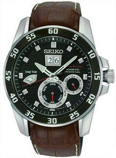 Японские наручные мужские часы Seiko SNP055J2. Коллекция Sportura