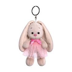 Брелок Budi Basa Зайка Ми в розовой юбке и с бантиком, 14 см