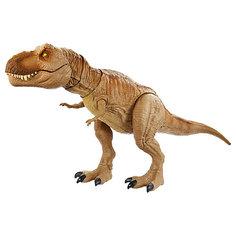 Фигурка динозавра Jurassic World Рычащий Ти-Рекс Mattel