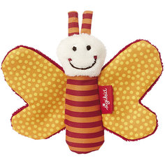 Игрушка-хваталка для малыша Sigikid, Оранжевая Бабочка, коллекция Красные Звезды, 12 см