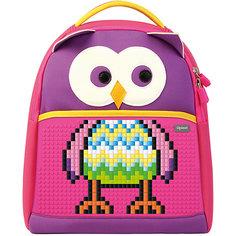 Школьный рюкзак Upixel «The Owl», фуксия