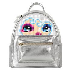 Мини рюкзак Upixel «Poker Face Backpack», серебряный