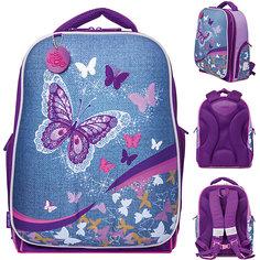 "Рюкзак школьный Tiger Family ""Expert Collection"" Denim Butterfly"