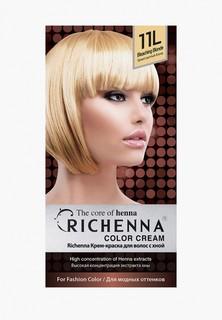 Краска для волос Richenna с хной №11L, Bleaching Blonde