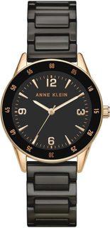 Женские часы в коллекции Ceramic Женские часы Anne Klein 3658RGBK