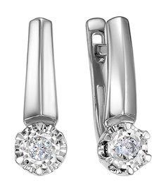 Золотые серьги Серьги Diamond Union 5-3664-103I2-2B