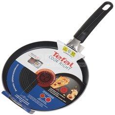 Блинница с антипригарным покрытием Tefal Cook Right 04166522, 22 см