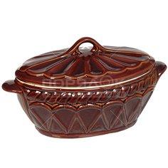 Форма для выпечки керамическая Жаровня Ладья, 4 л