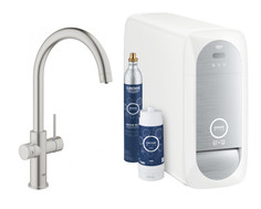 Смеситель для мойки с функцией очистки водопроводной воды Grohe Blue Home 31455DC0