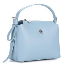 Сумки Голубая сумка из кожи Afina