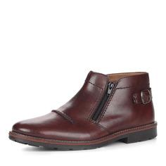 Ботинки Коричневые ботинки с декоративной пряжкой Rieker
