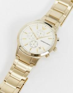 Золотистые наручные часы Emporio Armani AR11332-Золотой