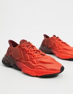 Красные кроссовки adidas Originals Ozweego-Красный