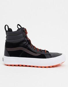 Черные/оранжевые кроссовки Vans UA SK8-Hi Boot MTE 2.0 DX-Черный