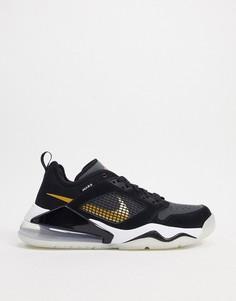Черно-золотистые низкие кроссовки Nike Jordan Mars 270-Черный