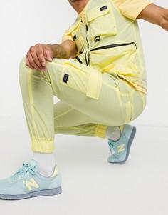 Желтые нейлоновые джоггеры от комплекта в стиле милитари Criminal Damage-Желтый