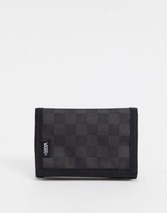 Бумажник в черно-серую клеткуVans-Черный