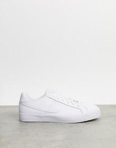 Белыекроссовки Nike Court Royale AC-Белый