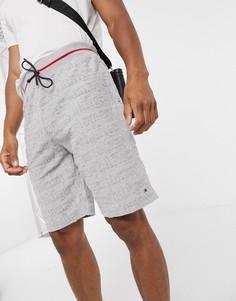 Серые шорты для дома с логотипом Tommy Hilfiger-Серый