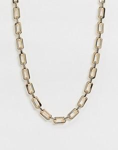 Ожерелье ASOS DESIGN-Золотой