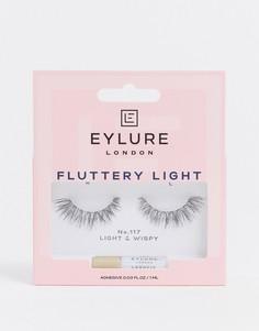 Накладные ресницы Eylure - Fluttery Light 117-Черный