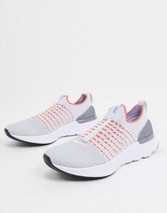 Белые кроссовки Nike Running React Phantom flyknit-Белый