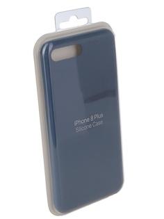 Чехол для APPLE iPhone 7 Plus / 8 Plus Innovation Silicone Case Blue 10624
