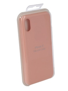 Чехол для APPLE iPhone X Innovation Silicone Case Pink 10303
