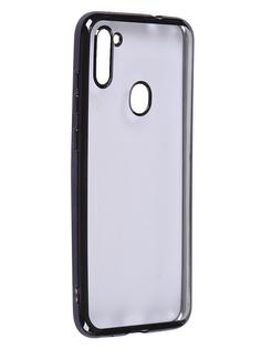 Чехол iBox для Samsung Galaxy A11 Blaze Silicone Black Frame УТ000020475