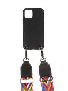 Чехол Ally для IPhone 11 Pro А5 Soft Touch с ремешком Black A5-01106
