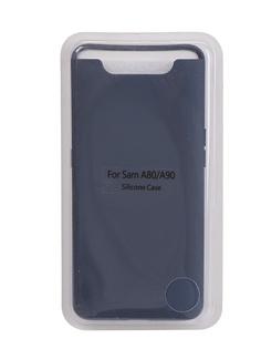 Чехол Innovation для Samsung Galaxy A80/A90 Silicone Cover Blue 16539