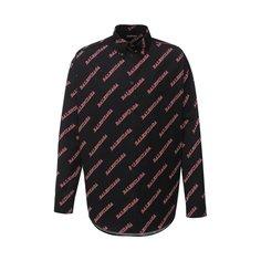Хлопковая рубашка Balenciaga