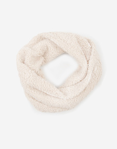 Бежевый шарф-снуд для девочки Gloria Jeans