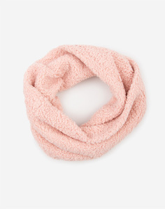 Розовый шарф-снуд для девочки Gloria Jeans