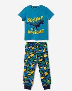 Пижама с динозаврами для мальчика Gloria Jeans