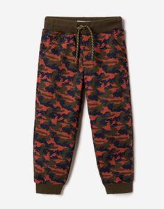 Спортивные брюки с камуфляжным принтом для мальчика Gloria Jeans