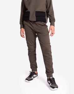 Спортивные брюки хаки для мальчика Gloria Jeans