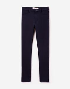 Темно-синие классические брюки для девочки Gloria Jeans