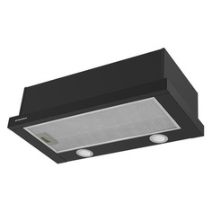 Встраиваемые вытяжки Вытяжка встраиваемая Maunfeld VS Light 60 черный управление: кулисные переключатели