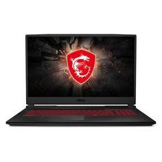 """Ноутбуки Ноутбук MSI GL75 Leopard 10SCSR-019XRU, 17.3"""", IPS, Intel Core i7 10750H 2.6ГГц, 8ГБ, 1000ГБ, 128ГБ SSD, NVIDIA GeForce GTX 1650 Ti - 4096 Мб, Free DOS, 9S7-17E822-019, черный"""