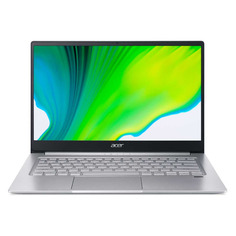 "Ультрабук ACER Swift 3 SF314-42-R24N, 14"", IPS, AMD Ryzen 5 4500U 2.3ГГц, 8ГБ, 256ГБ SSD, AMD Radeon , Eshell, NX.HSEER.00C, серебристый"