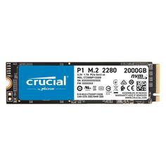 SSD накопитель CRUCIAL P2 CT2000P1SSD8 2ТБ, M.2 2280, PCI-E x4, NVMe