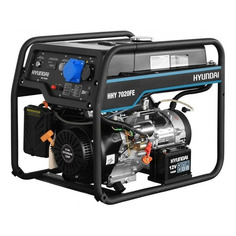 Бензиновый генератор HYUNDAI HHY 7020FE, 230 В, 5.5кВт