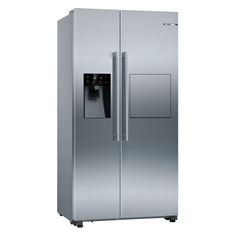 Холодильник BOSCH KAG93AI30R, двухкамерный, нержавеющая сталь