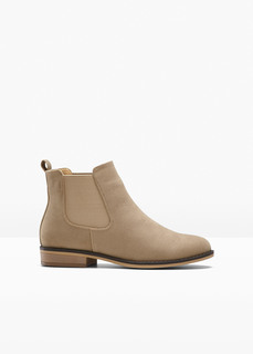 Обувь с эластичным голенищем Ботинки челси Bonprix