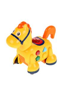 Музыкальная каталка-лошадка Умка Umka